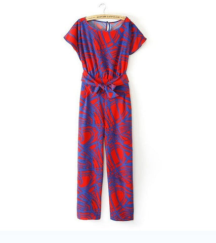 Abstract Motif Pantsuit