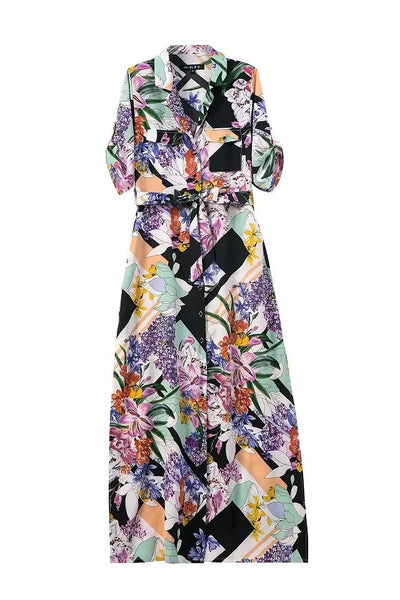 Floral Pattern Maxi
