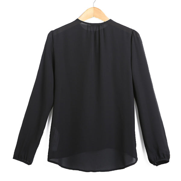 Chiffon Blouse (2 Color)
