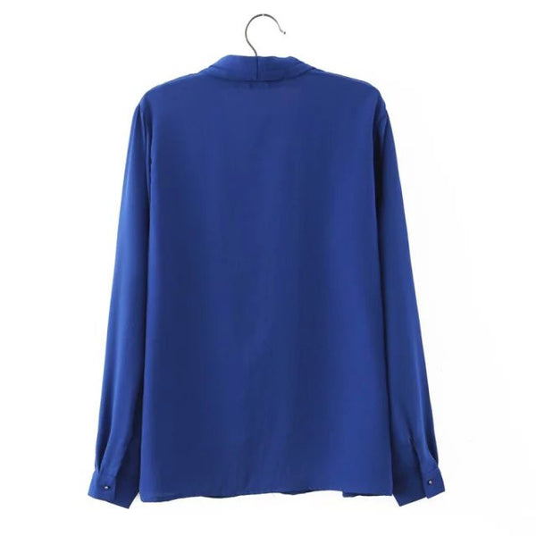 V-Neck Blouse (2 Color)