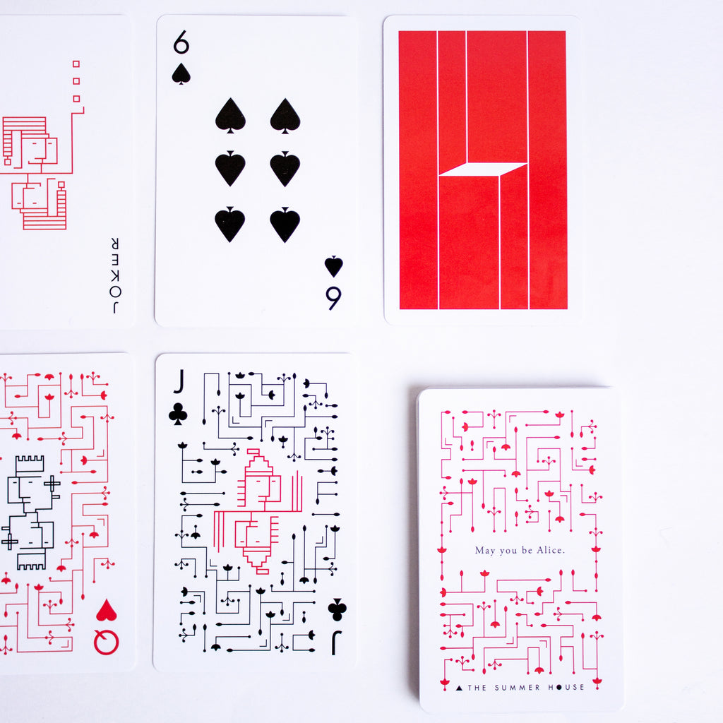 Being Alice - Cards Deck - Set of 2
