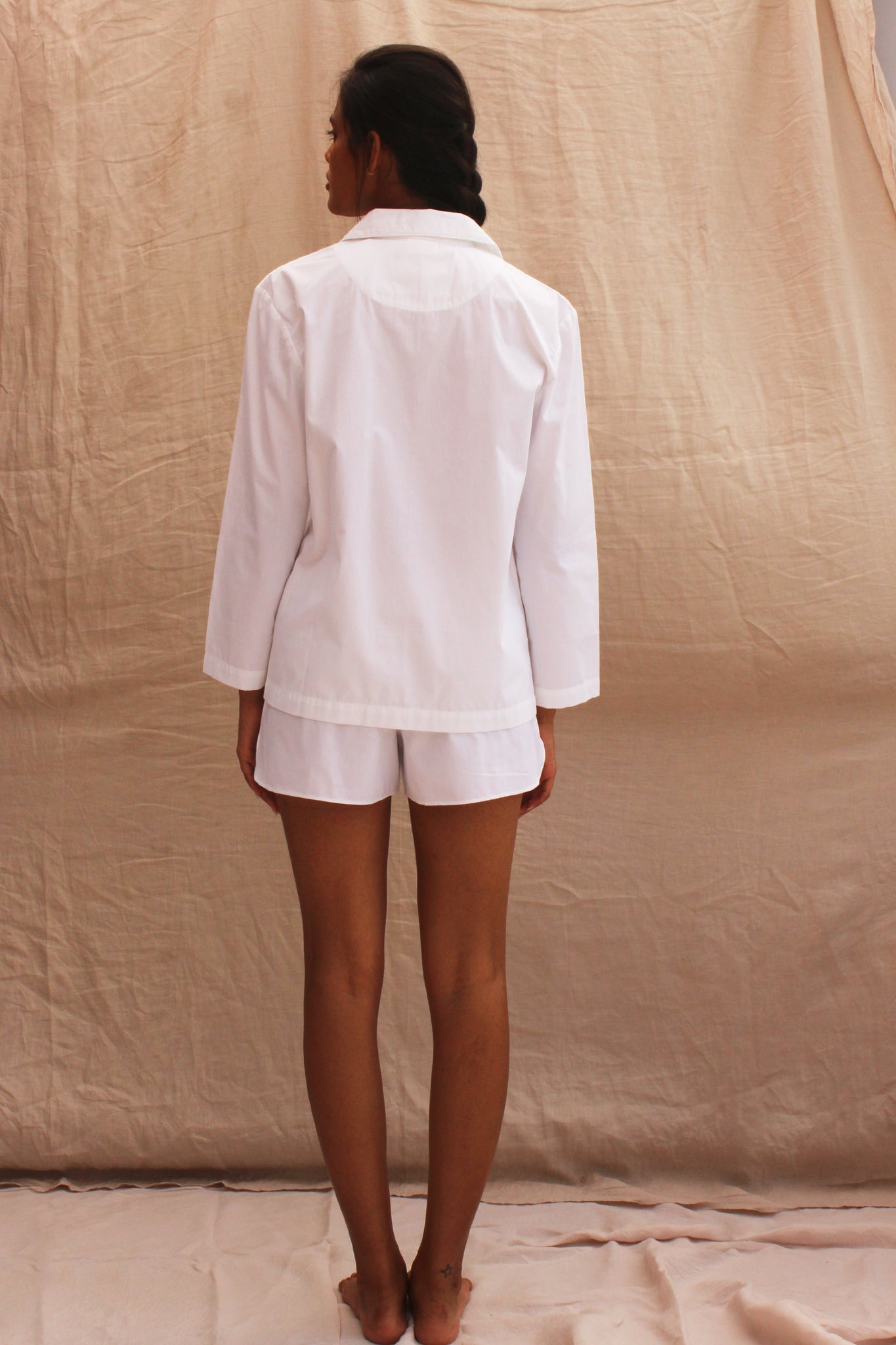 PLAY SUIT - BLANC