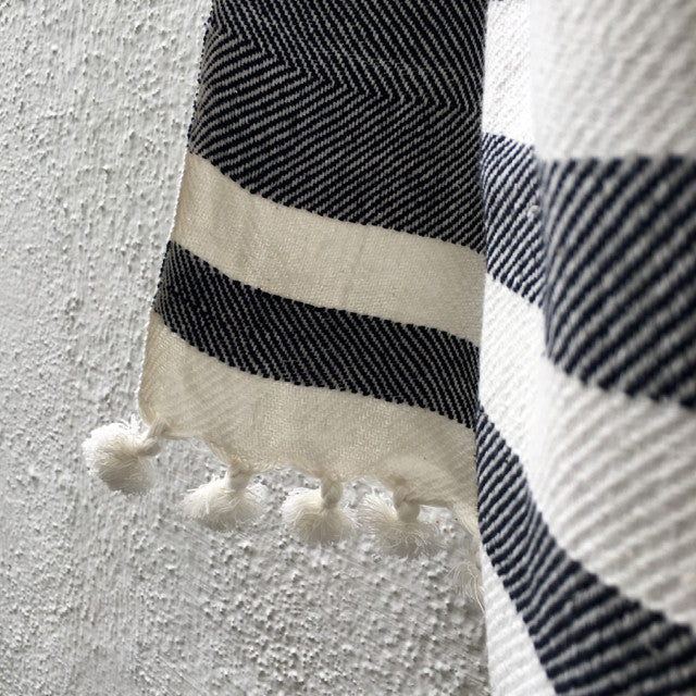 Striped Handwoven Towel