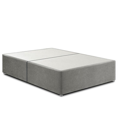 4ft Grey Deluxe Split Divan Base