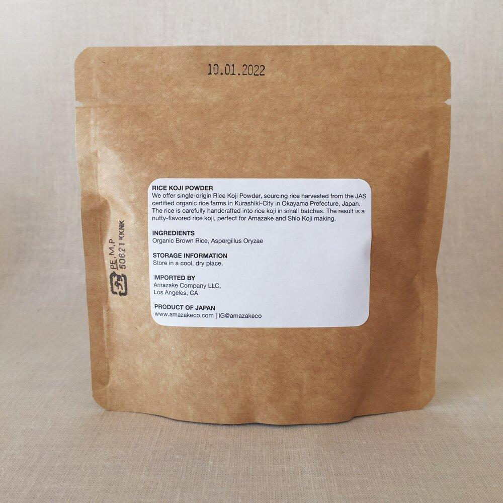 Organic Brown Rice Koji Powder - Amazake Co.