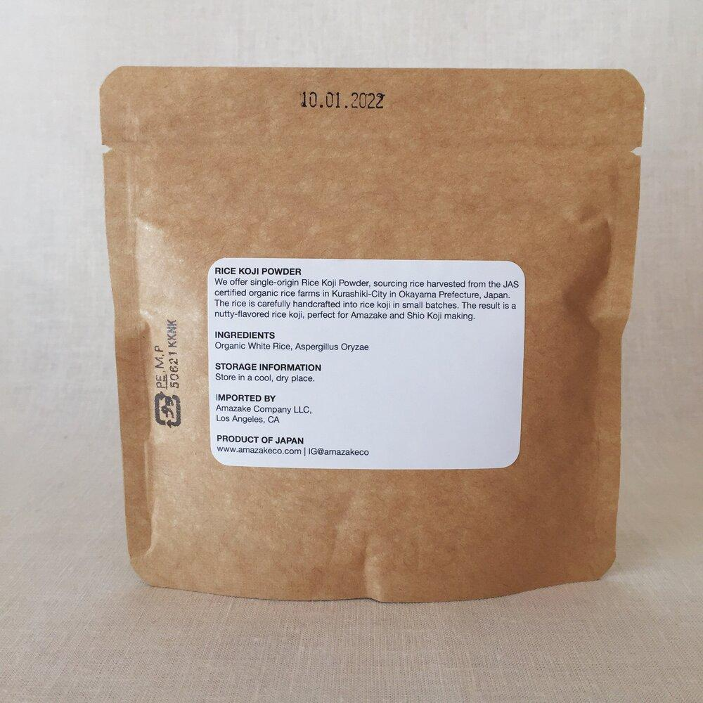 Organic White Rice Koji Powder - Amazake Co.