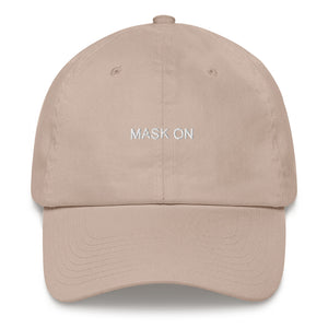 MASK ON Dad hat