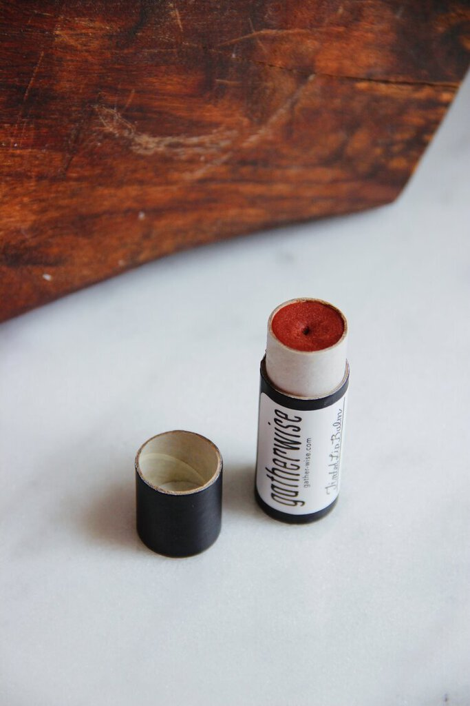 Gatherwise tinted lip balm .30 oz