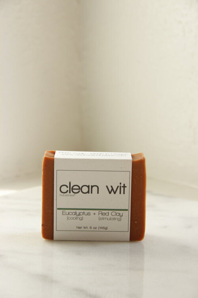Clean Wit Industries PDX Eucalyptus + Red Clay Soap