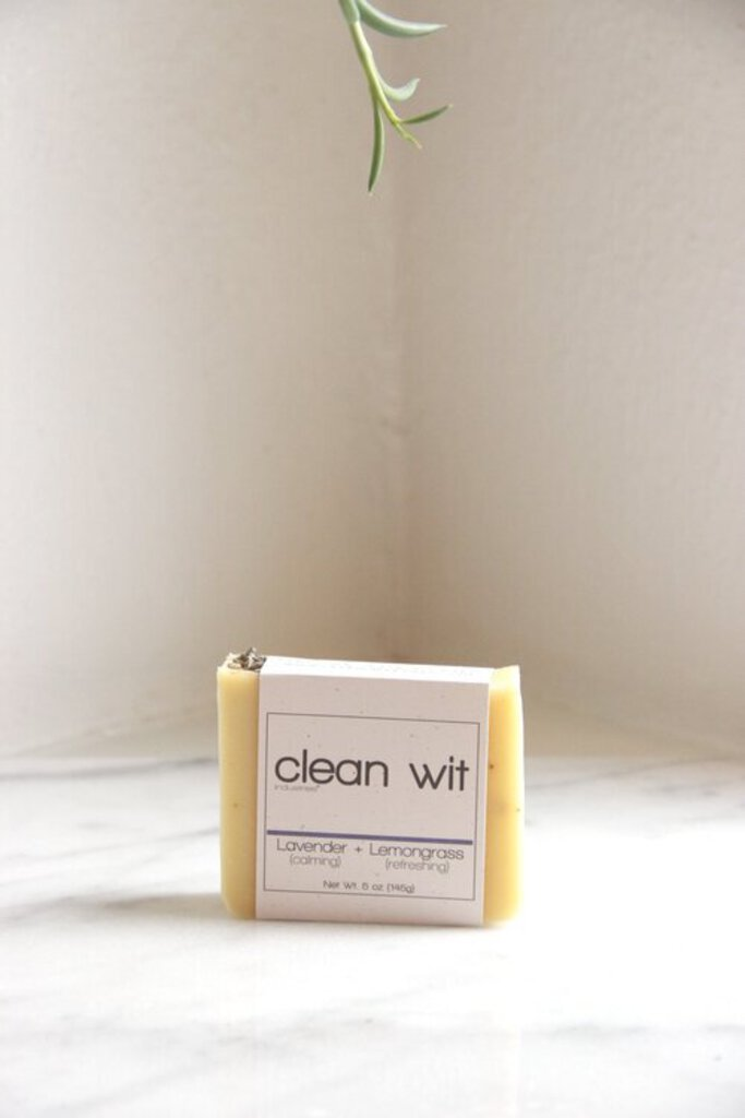 Clean Wit Industries PDX Lavender + Lemongrass Soap