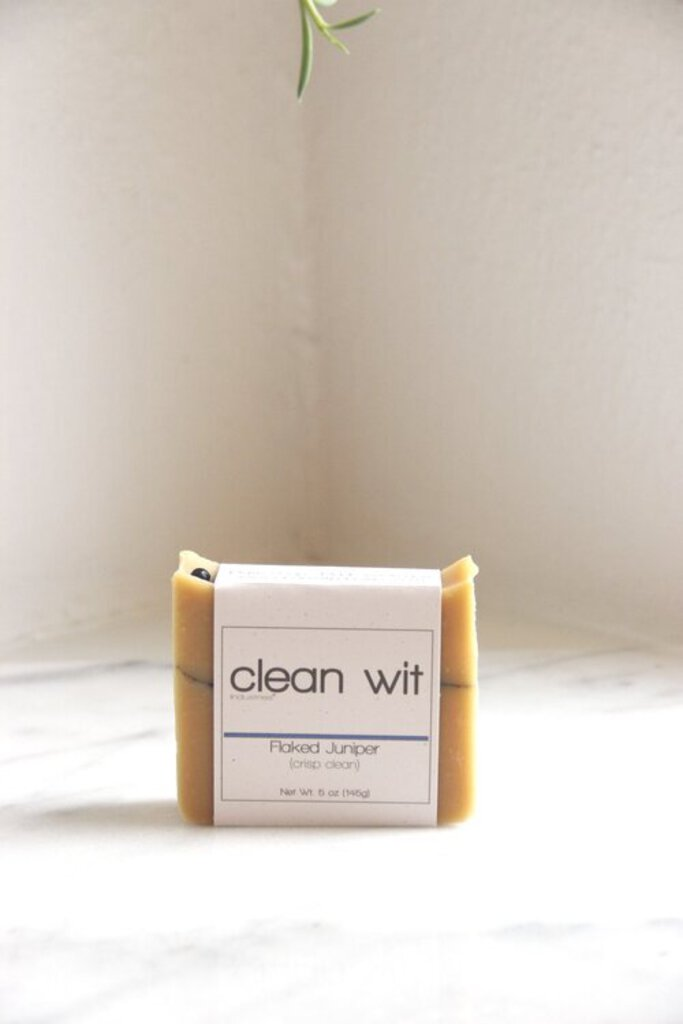 Clean Wit Industries PDX Flaked Juniper Soap