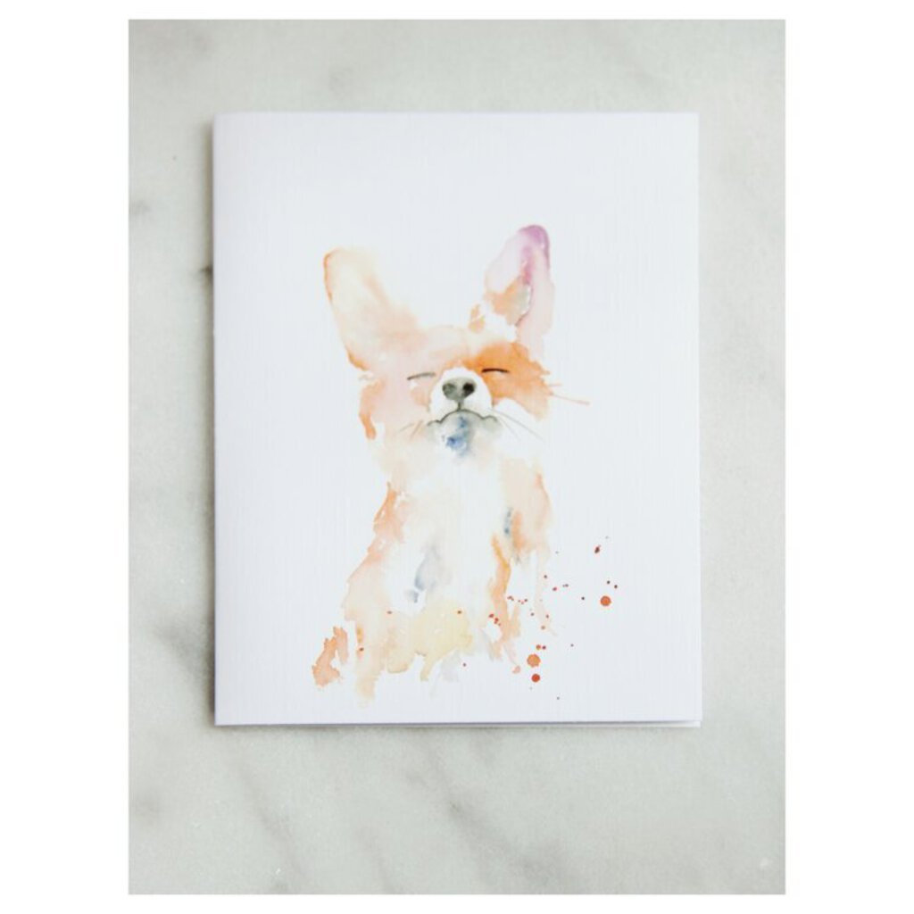 Easy Sunday Club PDX Proud Fox Greeting Card
