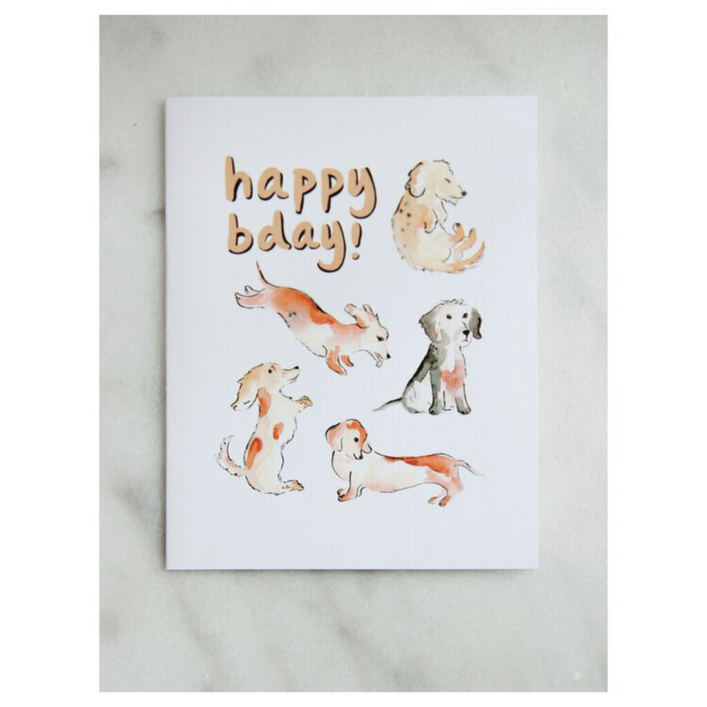Easy Sunday Club Dachshund Bday Card