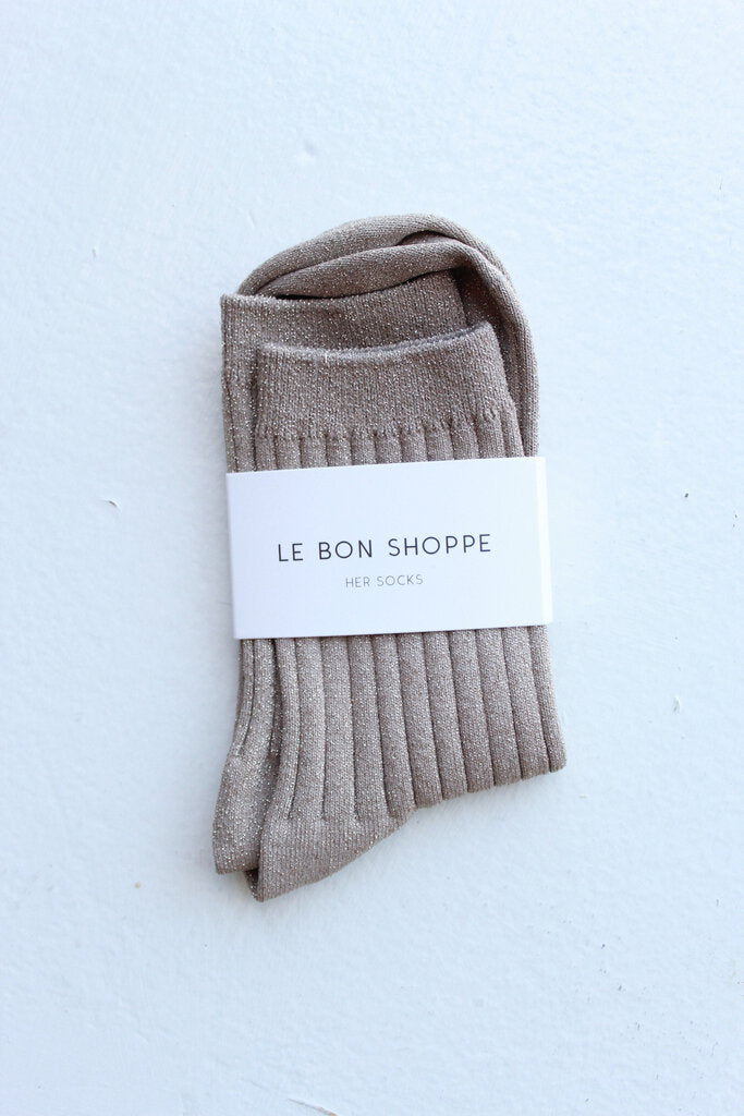 Le Bon Shoppe in Lurex Jute Glitter