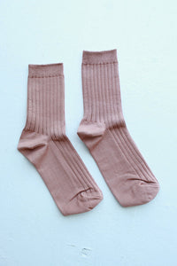 Le Bon Shoppe Her Socks Cotton Nude Peach