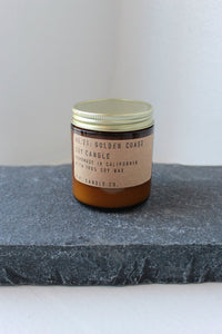 P.F. Candle Co. No. 21 Golden Coast Small Soy Candle 7.2oz