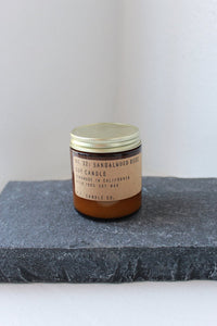 P.F. Candle Co. No. 32 Sandalwood Rose Small Soy Candle 3.5oz
