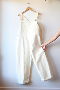 BIG BUD PRESS ORIGINAL OVERALLS IN IVORY SZ XL (NEW)