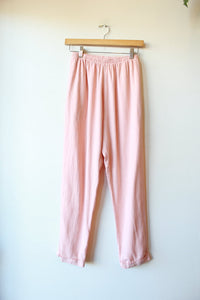 ME & ARROW CUFF PANT IN PEACH SZ S (RETAIL $134)