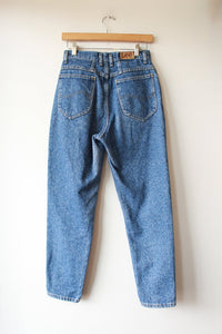 VINTAGE LEE TAPERED HIGH RISE JEANS SZ 4