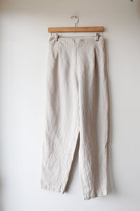 ONLY CHILD KEATON PLEATED PANTS IN OATMEAL SZ 8R ($159 ON SALE ONLINE)