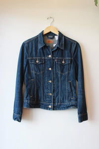 LEVI'S DARK WASH DENIM JACKET SZ XS/S