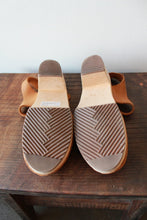 Load image into Gallery viewer, LOTTA'S BROWN LEATHER MARY JANE CLOGS SZ 40/9-10