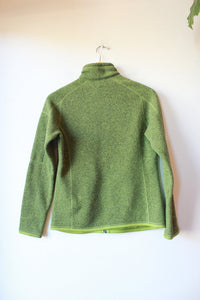 PATAGONIA BETTER SWEATER JACKET IN HEATHER GREEN SZ S ($139 ONLINE)