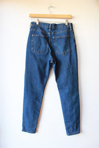EVERLANE HIGH RISE SKINNY JEANS SZ 29/8 ANKLE