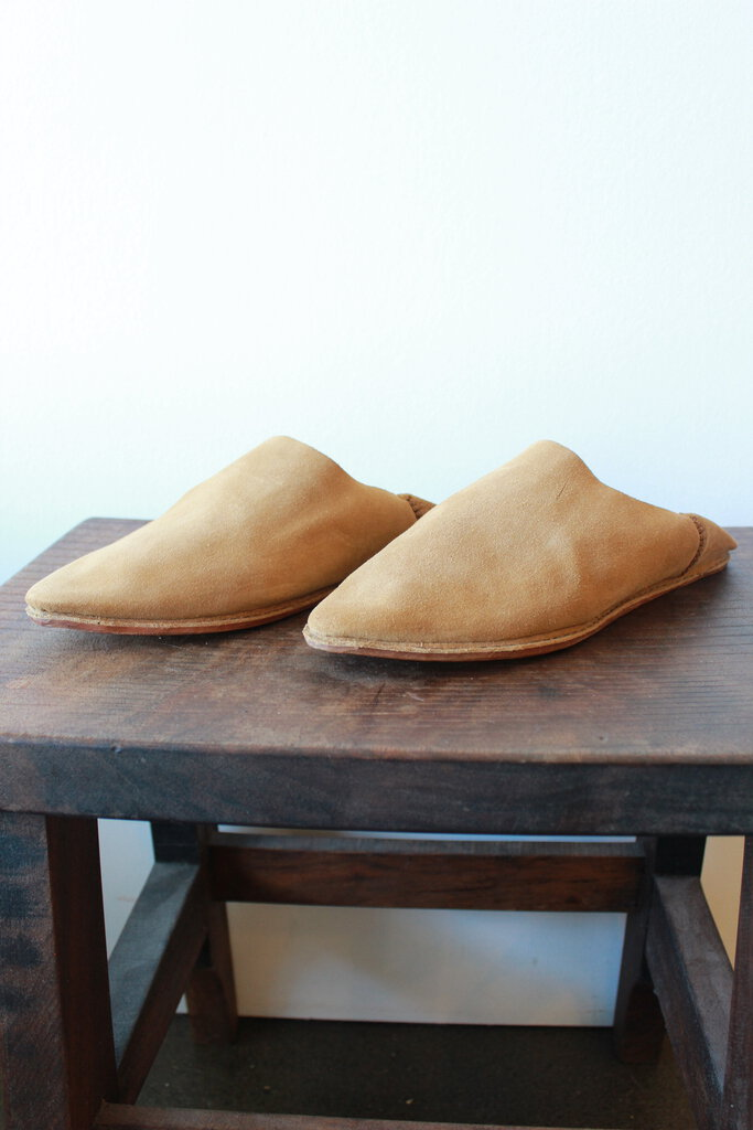 BROTHER VELLIES NUTMEG BABOUCHE SZ 3 (FIT 8.5) (RETAIL $265) (NEW)