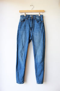 DL1961 CHRISSY CROPPED ULTRA HIGH RISE SKINNY JEANS SZ 25/0