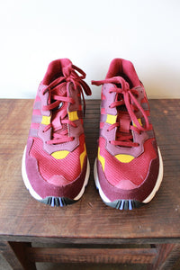 ADIDAS BURGUNDY RUNNING SNEAKERS SZ 8.5 (NEW)