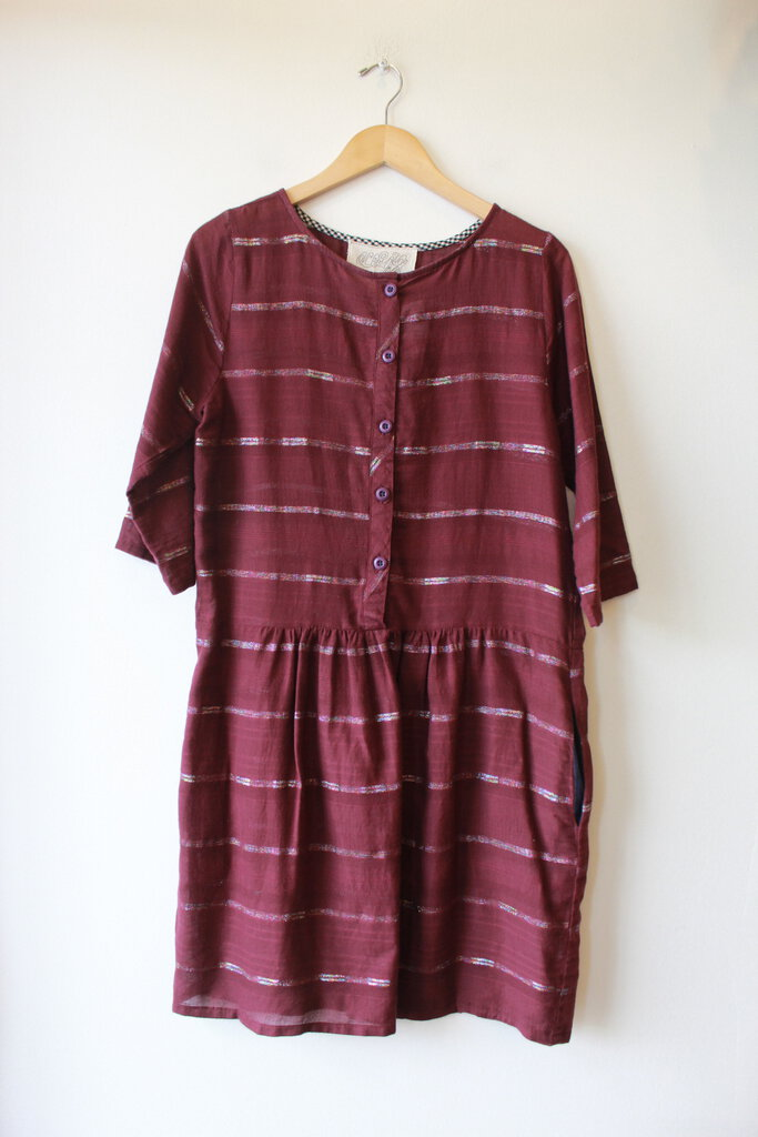 ACE & JIG ARBOR DRESS IN INCENSE, SZ M