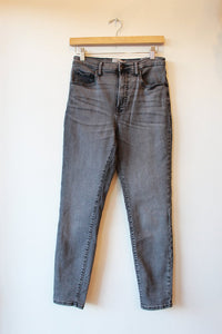 EVERLANE WASHED BLACK GREY HIGH RISE SKINNY JEANS SZ 29/8