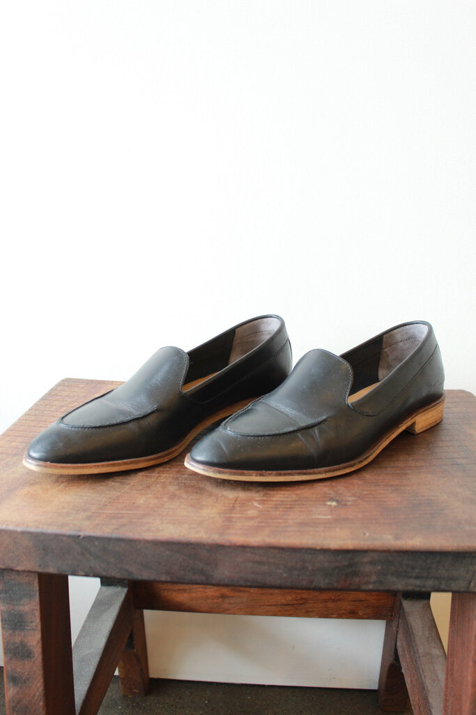 EVERLANE MODERN LOAFER BLACK SZ 8.5