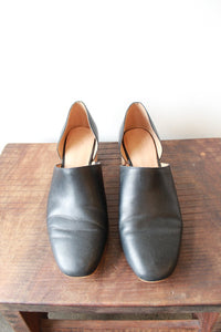 MADEWELL BLACK LEATHER KIRSTIE LOWCUT BOOTIE SZ 8
