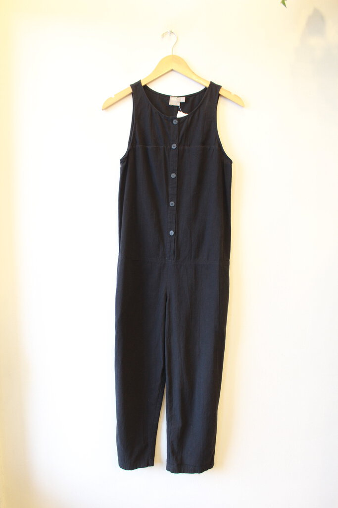 ASOS BLACK OVERALL COCOON JUMPSUIT SZ 0