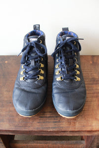 KEDS NAVY WATERPROOF SCOUT BOOT SZ 8.5 (RETAIL $79.50)