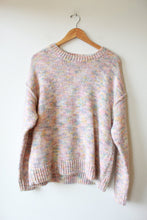Load image into Gallery viewer, GAP PASTEL UNICORN MARLED KNIT SZ M