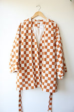 Load image into Gallery viewer, MADEWELL CHECKERBOARD WRAP JACKET SZ XL