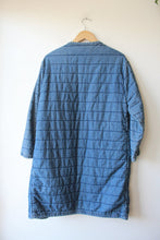 Load image into Gallery viewer, ORIMONO QUILTED DENIM COCOON JACKET SZ M
