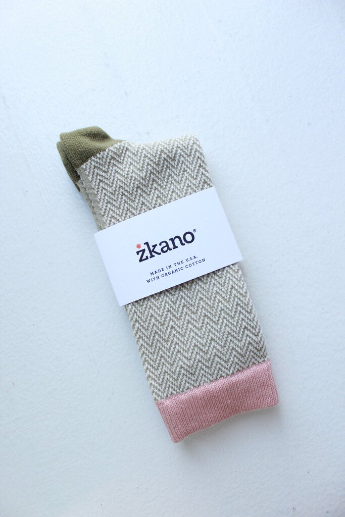 zkano Shelby sock in Sage