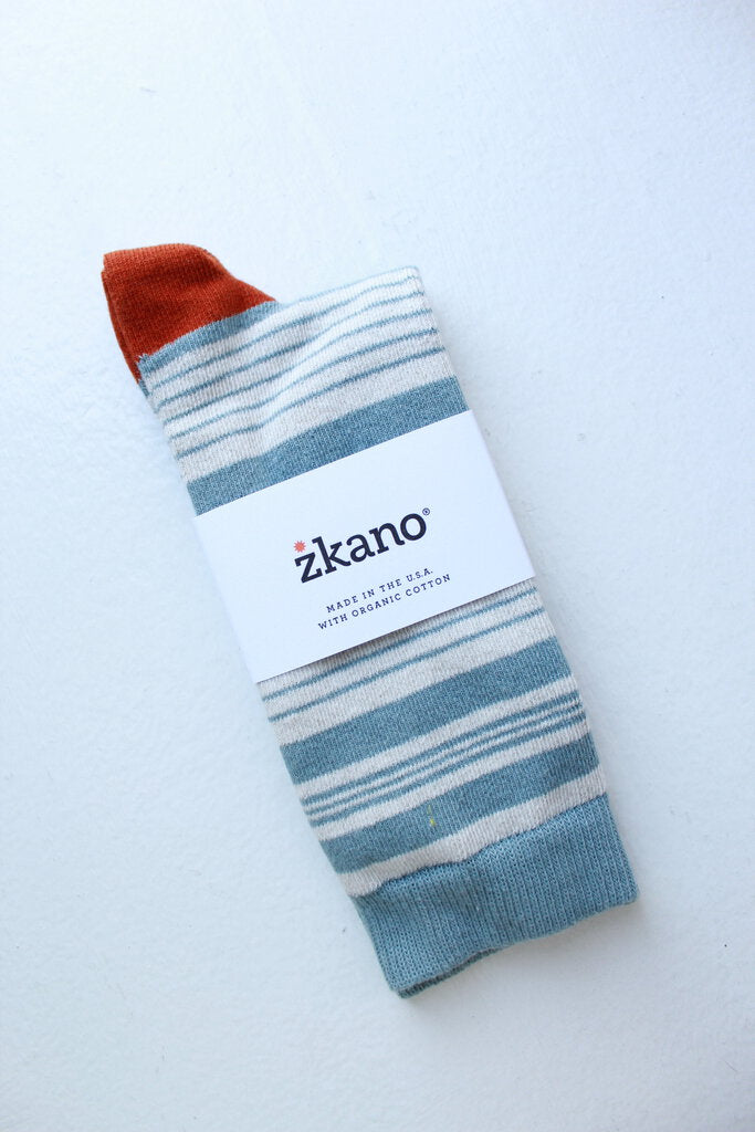 zkano Gavin sock in Lead