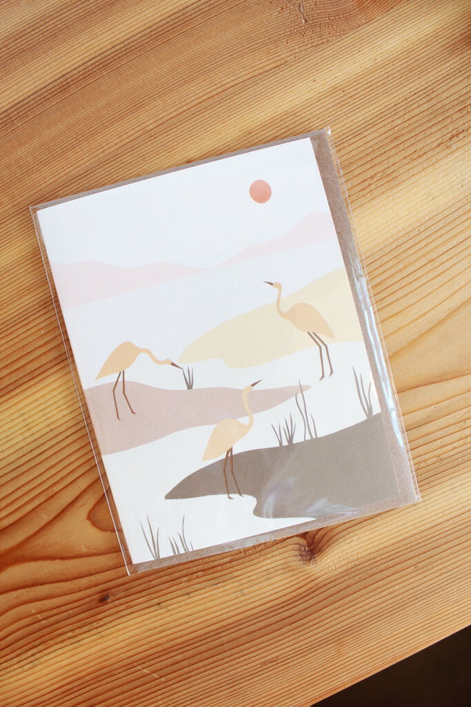 ELANA GABRIELLE MARSH BIRDS CARD