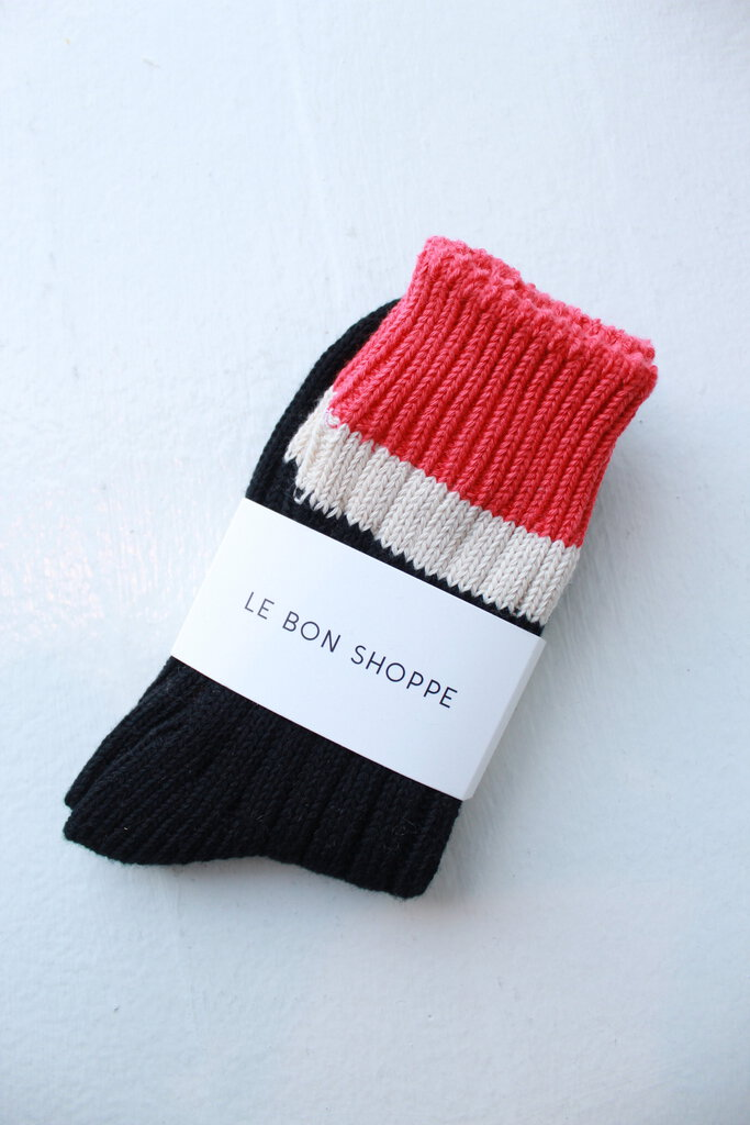 Le Bon Shoppe Camp Socks in Black