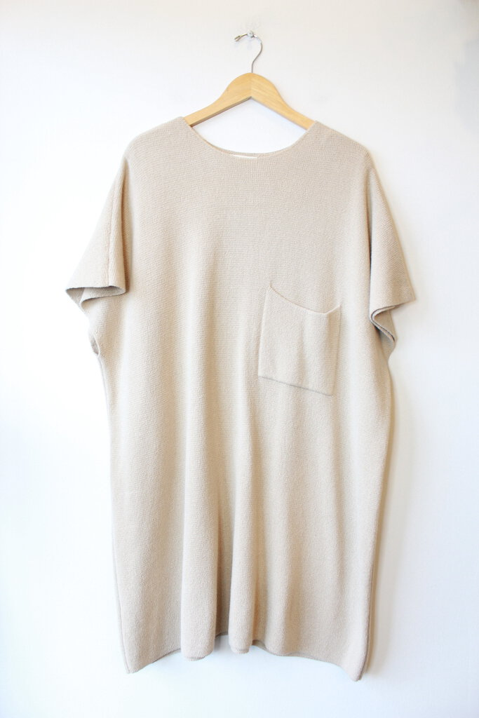 REVISITED MILANO DRESS IN OAT (ONE SIZE)