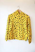 Load image into Gallery viewer, CLARE V. SPOTTED HOODIE IN YELLOW SZ S (NEW) ($199 ONLINE)