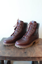 Load image into Gallery viewer, TIMBERLAND JAYNE WATERPROOF LACE UP BOOTS BURGUNDY SZ 8