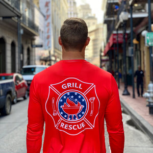 UPF 50+ Long Sleeve Shirt (4th of July Edition)