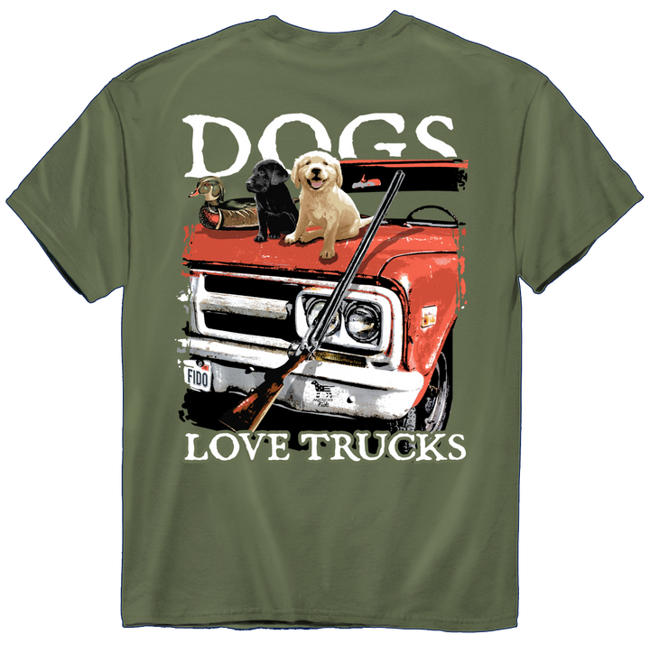 American Fido | Dogs Love Trucks 1210